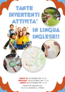 "Inizio Corsi ""English Is Fun!"" - Lezione Prova Gratuita"